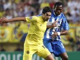 El Vallorbe-Ballaigues será el equipo al que pertenezca Eric Djemba-Djemba. EFE/Archivo