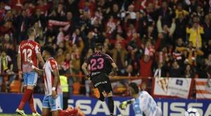 Djuka hizo los dos goles del Sporting ante el Lugo. LaLiga
