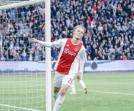 Victoria fácil del Ajax ante el quinto de la Eredivisie. Twitter/Ajax