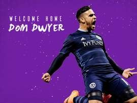 Dom Dwyer has joined Orlando City. Twitter/OrlandoCitySC