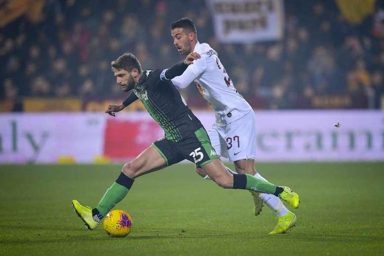 Le formazioni ufficiali di Sassuolo-Hellas Verona. ASRoma