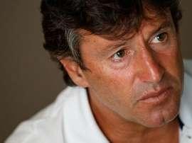O técnico de 48 anos descarta orientar o filho, no Belenenses ou noutro clube qualquer. Twitter