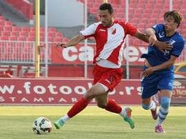 Dominik Dinga cambia Serbia por Rusia y jugará en el Ural. FK Vojvodina