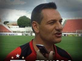 Doriva, nuevo entrenador de Atlético Goianiense. ACGOficial