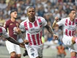 Dorlan Pabón consiguió el empate. Monterrey