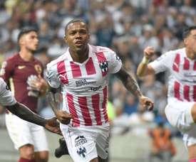 Funes Mori anotó para Monterrey. EFE/Archivo