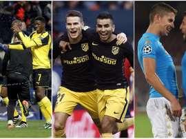 Dortmund, Atletico et Lazio, trois des equipes qui ont parcouru plus de kilomètres. BeSoccer