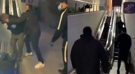 Dos Boixos Nois golpearon al líder de Brigadas. Capturas/Twitter/PerdigueroSIPEp
