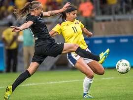 Colombia está a punto de despertar del sueño olímpico por la vía rápida. AFP