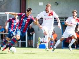 El Atlético Levante sigue luchando por el ascenso. LevanteUD