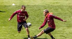 Los positivos del Dynamo Dresden traen serias dudas. Twitter/DynamoDresden