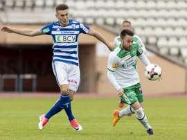 El Lausanne y el Sankt Gallen empataron a tres tantos. Lausanne-Sport