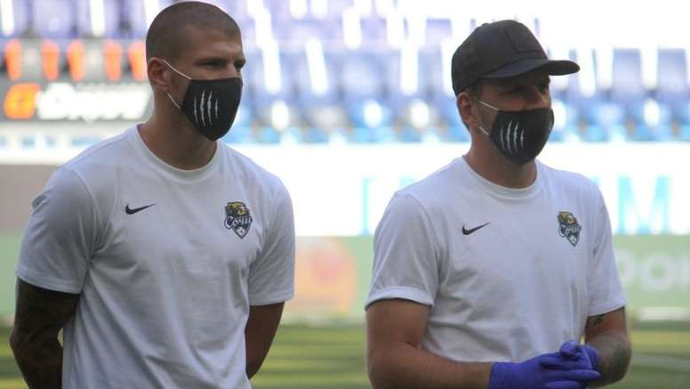 Sochi are short of players due to the coronavirus. Twitter/pfcsochi