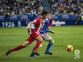 El Oviedo se llevó el derbi con dos goles en el primer tiempo. LaLiga