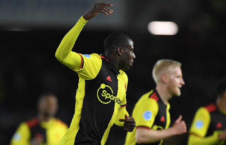 Mariappa scored for Watford, but the Hornets came away with just one point. Twitter/WatfordESP