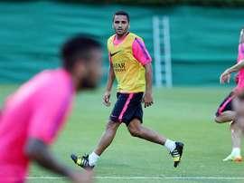 Douglas sigue siendo un 'problema' para el Barça. FCBarcelona