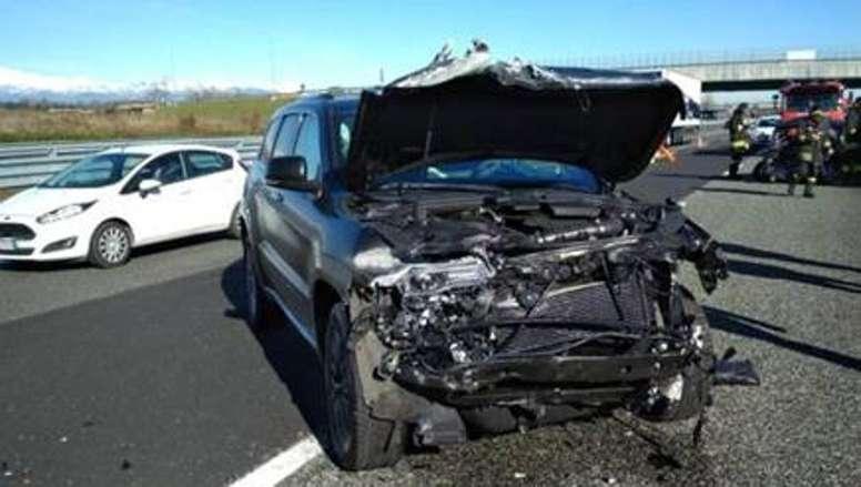 Douglas Costa impliqué dans un accident. EFE