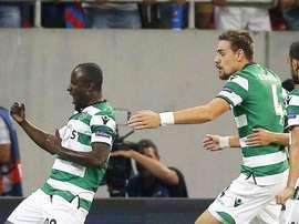 O Sporting CP bateu o União da Madeira por 6-0. Twitter