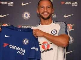 Drinkwater est un joueur de Chelsea. Twitter/ChelseaFC