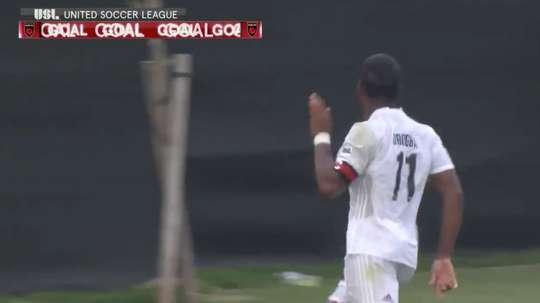 Drogba a marqué un but pour les Phoenix Rising. Twitter