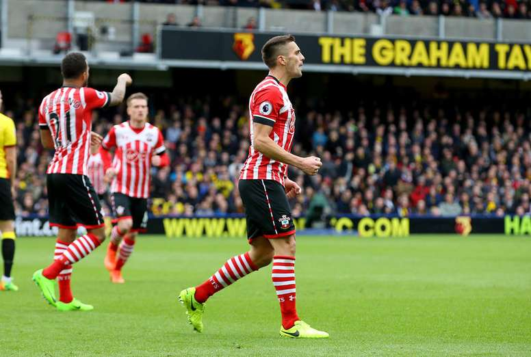 El Southampton se llevó los tres puntos a casa en Premier. SouthamptonFC