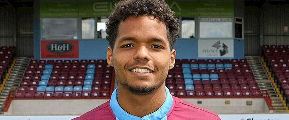 Duane Holmes set for Derby move. ScunthorpeUnited