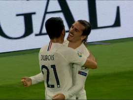 Antoine Griezmann n'avait plus marqué depuis le mois de juin. Capture/TF1