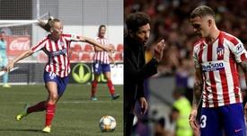Duggan y Trippier, los dos únicos ingleses del Atlético de Madrid. EFE/BeSoccer