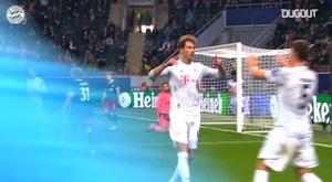 VÍDEO: la victoria del Bayern en Rusia ante el Lokomotiv. Captura/Dugout