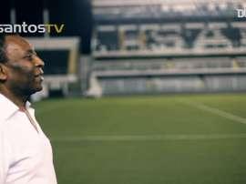 La grande carriera di Pelé. Dugout