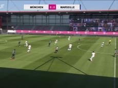 Les meilleurs moments de la rencontre entre l'OM et le Bayern. DUGOUT
