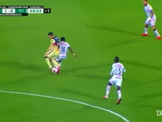 El golazo de  Richard Sánchez ante Tijuana. DUGOUT