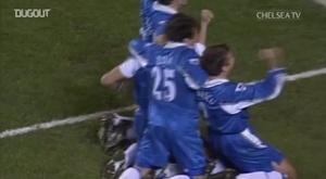 Il bellissimo goal di Di Matteo. Dugout