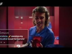 El curioso spot de los jugadores del Barça. DUGOUT