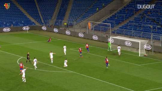Fabian Frei scored for Basel as they went through 4-0 on aggregate. DUGOUT