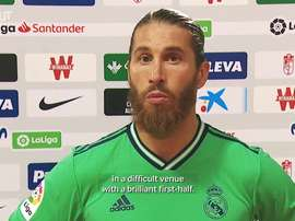 Ramos: 'We're thinking on winning the two remaining matches'. DUGOUT