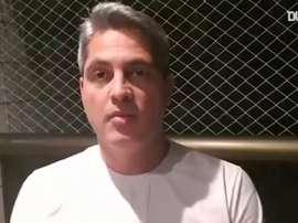 Rodrigo Santana, o novo técnico da equipe do Coritiba. DUGOUT