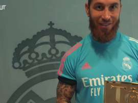Sergio Ramos in FIFA 21 team of the year. DUGOUT