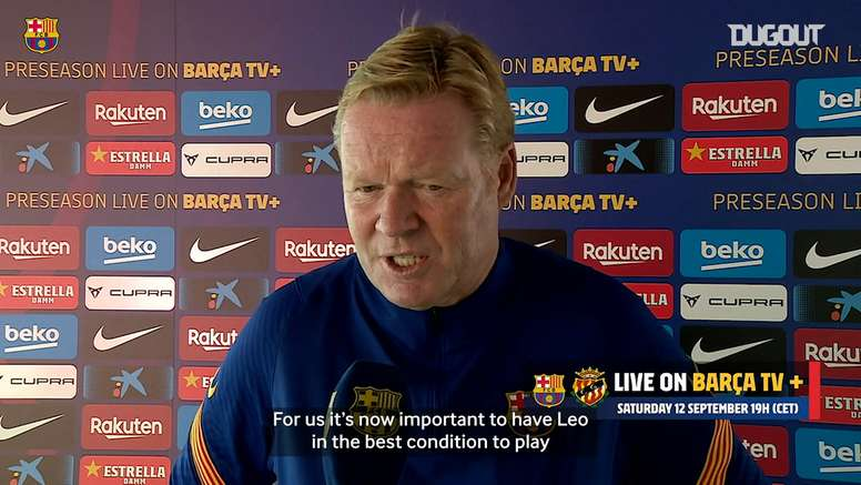Barcelona face Gimnàstic in a friendly. DUGOUT