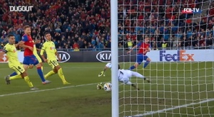 FC Bâle vs CSKA Sofia. Dugout