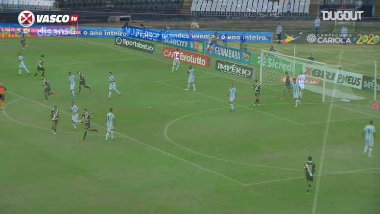 Melhores momentos de Vasco 3 x 1 Macaé na Taça Rio 2020. DUGOUT