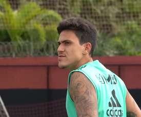 VIDEO: Individual drills with the ball at Ninho do Urubu. DUGOUT