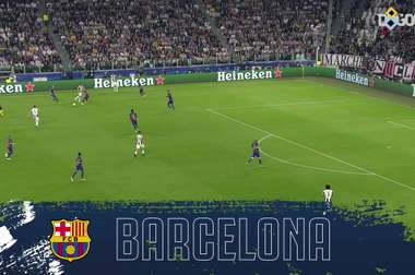 Juventus have scored some crackers against Barcelona over the years. DUGOUT