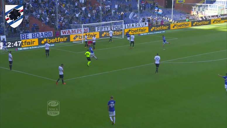TOP 5 buts Sampdoria vs Atalanta. DUGOUT