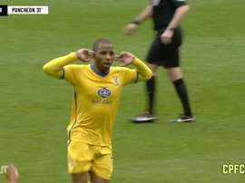 Puncheon scored two goals for Palace. DUGOUT