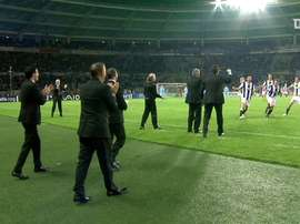 Le superbe coup franc de Del Piero contre le Zenith. dugout