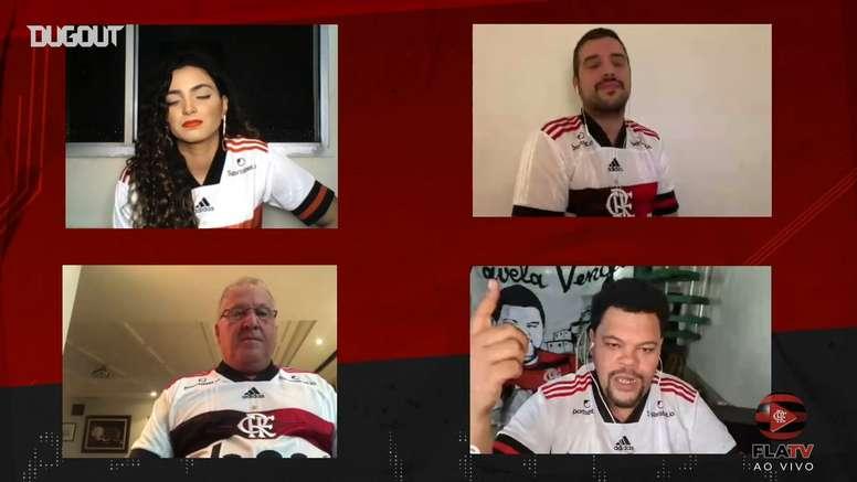 Babu diz que torce para Gabigol ser tão ídolo quanto Zico no Flamengo. DUGOUT