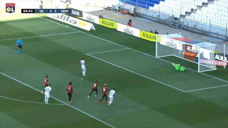 Lyon beat Nice 1-0 in a friendly last Saturday. DUGOUT