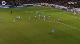 Ianis Hagi scored the winner for Rangers versus Hibs back in February. DUGOUT