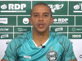 William Matheus comemora vantagem sobre o Paraná. DUGOUT